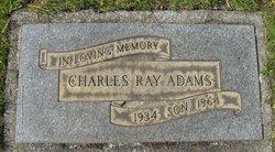 Charles Ray Adams
