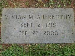 Vivian M Abernethy