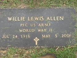 Willie Lewis Allen