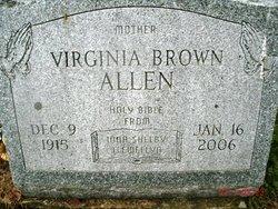 Virginia <i>Bailey</i> Allen