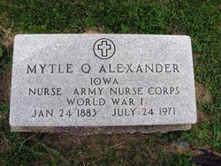 Myrtle <i>Quiett</i> Alexander