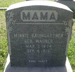 Minnie <i>Wagner</i> Baumgartner