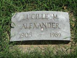 Lucille M <i>Herzler</i> Alexander