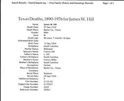 James W. Hill