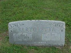 Esther Jane <i>Huffman</i> Bartoletta