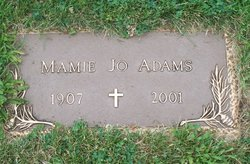 Mamie Josephine <i>Custer</i> Adams