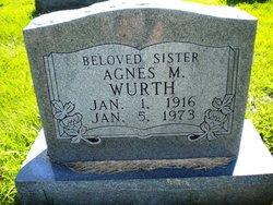 Agnes M Wurth