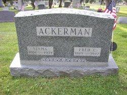 Selma Elisabeth <i>Bauer</i> Ackerman