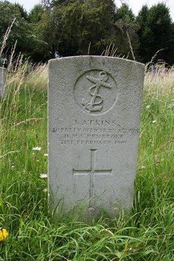 Petty Officer Stoker J Atkins