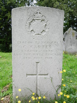 Lance Corporal Charles Carter