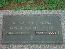 Roma <i>Hill</i> Akins