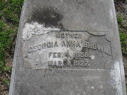 Georgia Anna Brown