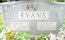 Florence B Evans