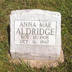 Anna Mae <i>Waterbury</i> Aldridge
