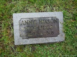 Annie Leola <i>Hixson</i> Coolidge