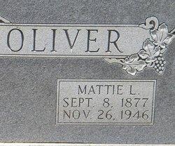 Mattie Louise <i>Bowdoin</i> Oliver