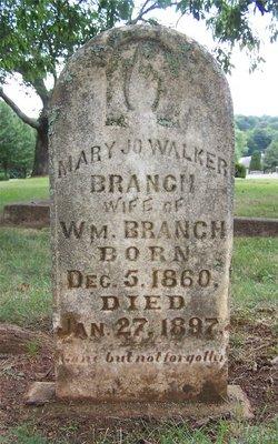 Mary Jo <i>Walker</i> Branch