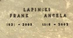 Angela <i>Kuzera</i> Lapinski