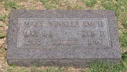 Mary Winkler Emch