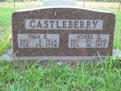 Oma Estelle <i>Cook</i> Castleberry