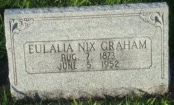 Eulalia <i>Nix</i> Graham