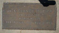 Jack Clancy Isgrigg