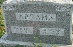 Mary Lillian <i>Taylor</i> Abrams