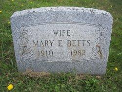 Mary Edith <i>Montgomery</i> Betts