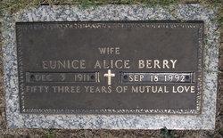 Eunice Alice Berry