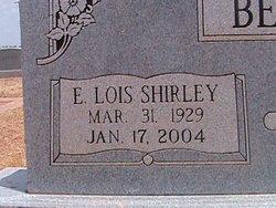 E. Lois <i>Shirley</i> Bennett