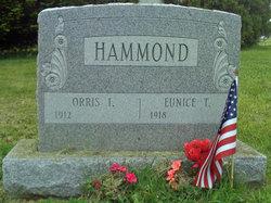 Eunice <i>Ticknor</i> Hammond