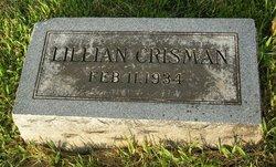 Lillian <i>Earley</i> Crisman