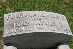 Ellen Jane <i>Wilson</i> McAllister
