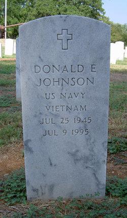 Donald E. Donnie Johnson