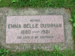 Emma Belle <i>Harris</i> Bushman