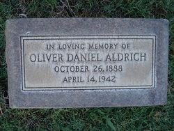 Oliver Daniel Dan Aldrich
