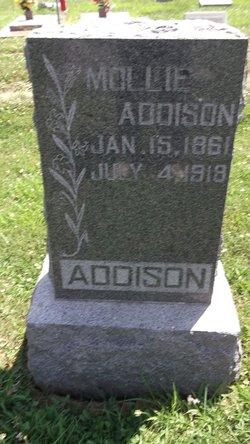 Mollie <i>Conger</i> Addison