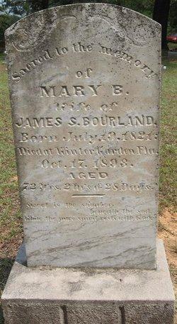 Mary B <i>Gardner</i> Bourland