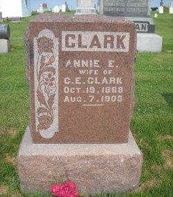 Annie E <i>Owens</i> Clark