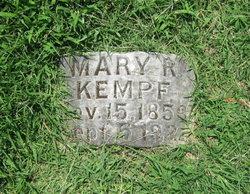 Mary R <i>Schwarzkopf</i> Kempf