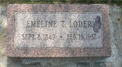 Emeline T Loder