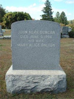 John Kerr Duncan