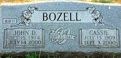 Cassie Idella <i>Harvey</i> Bozell