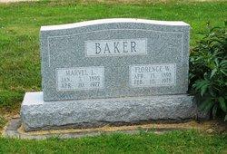 Florence Clyde <i>Wortham</i> Baker