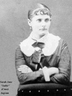 Sarah Jane Sallie <i>Cone</i> Ingram