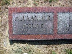 Adelia P. Alexander