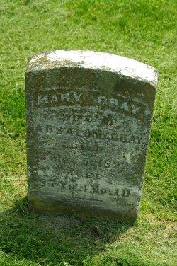 Mary <i>Pickett</i> Gray