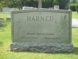Bernice <i>Saylor</i> Harned
