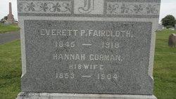 Everett P Faircloth