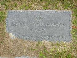 Isabell Von <i>Allmen</i> Bailey